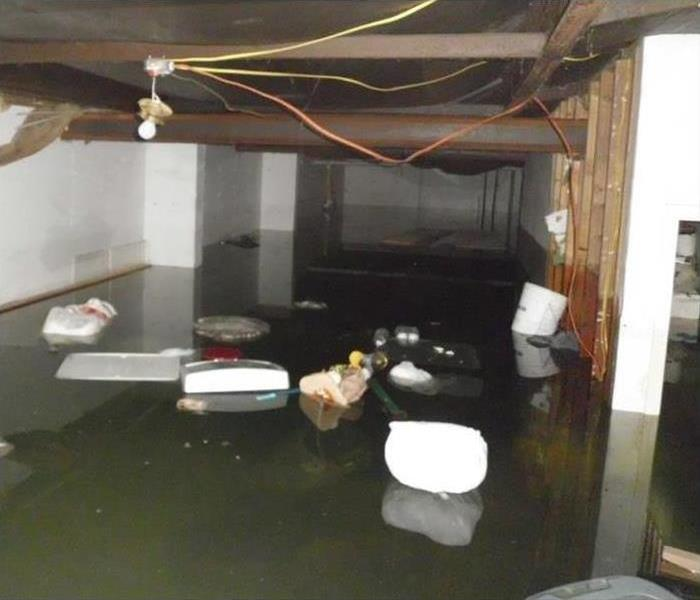 Colorado Springs Flooded Facility Before