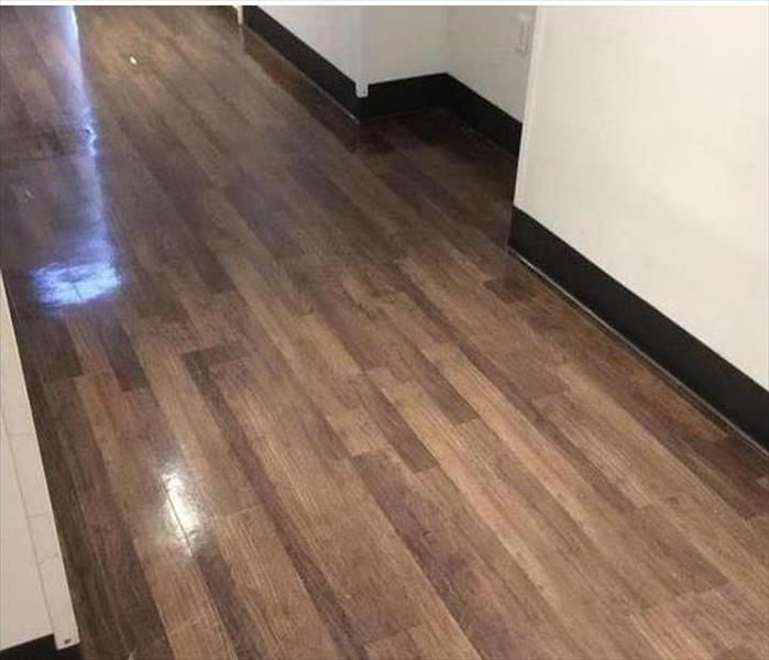 Laminated Flooring Gets Wet After