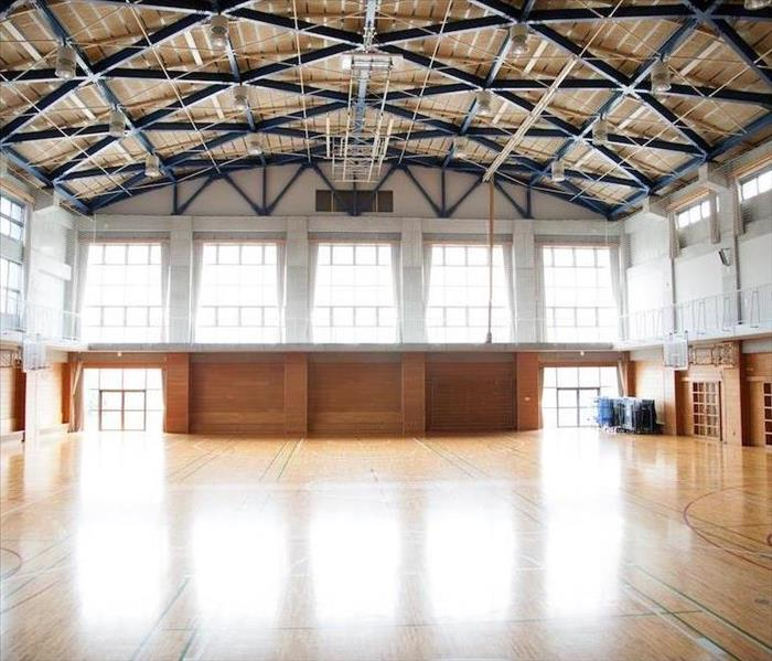 Commercial Water Damage to Sporting Facilities in Colorado Springs is a Challenge, but SERVPRO Can Overcome